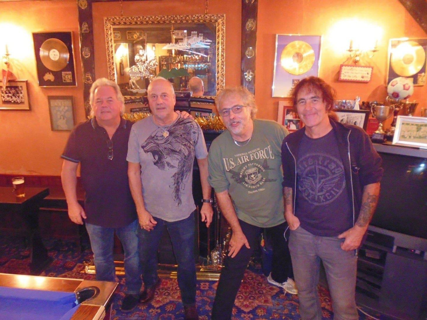 Reunión Iron Maiden miembros originales