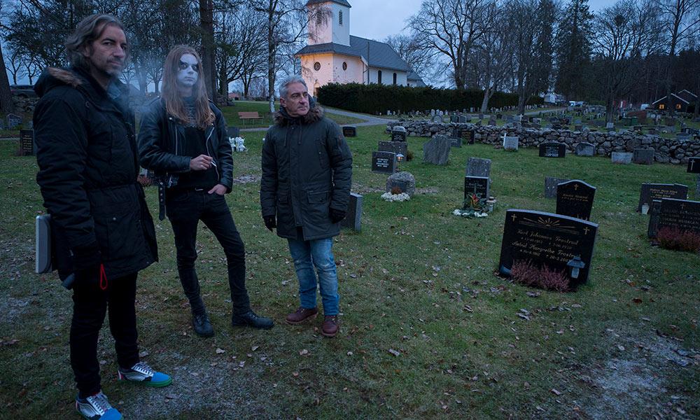 Corpsepaint Jon & Joe cementerio