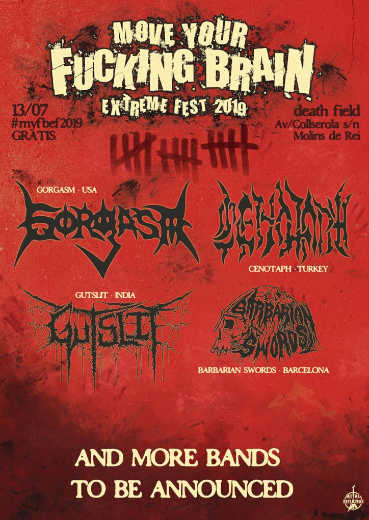 Move Your Fucking Brain Extreme Fest 2019 diciembre