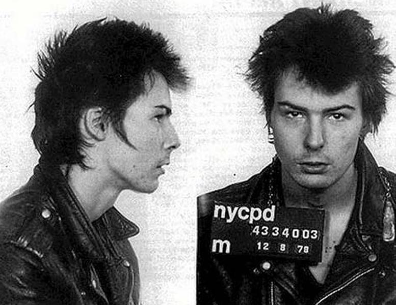 Sid Vicious cárcel