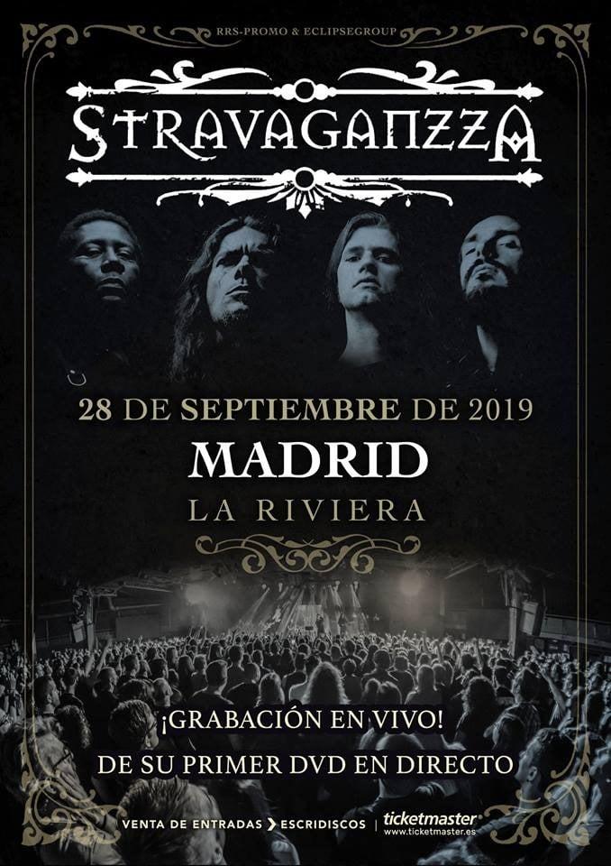 Stravaganzza Madrid 2019 DVD cartel