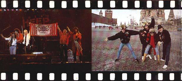 Uriah Heep Rusia Moscú 1987