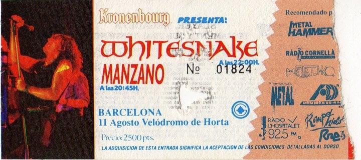 Whitesnake Manzano