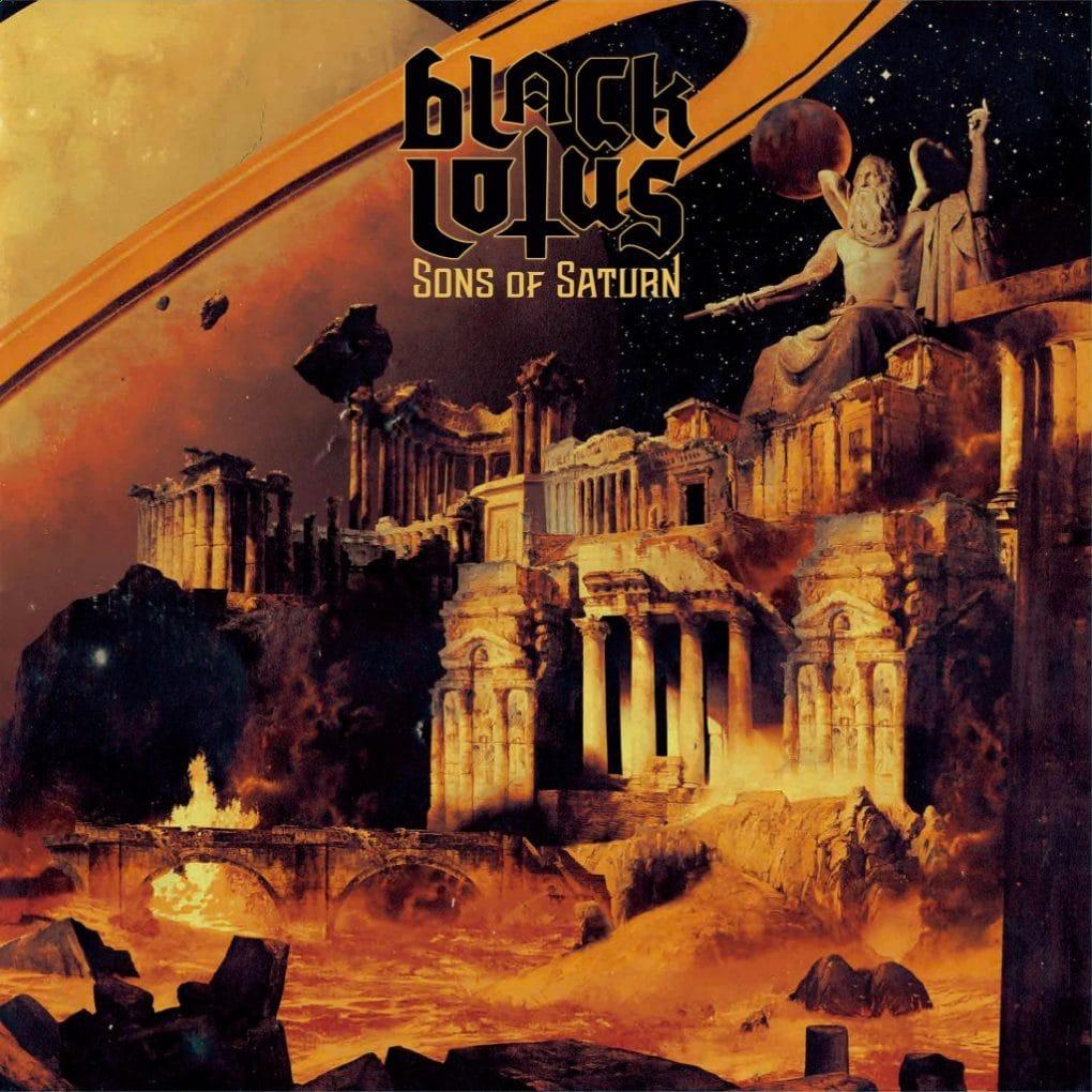 Black Lotus Sons Of Saturn portada