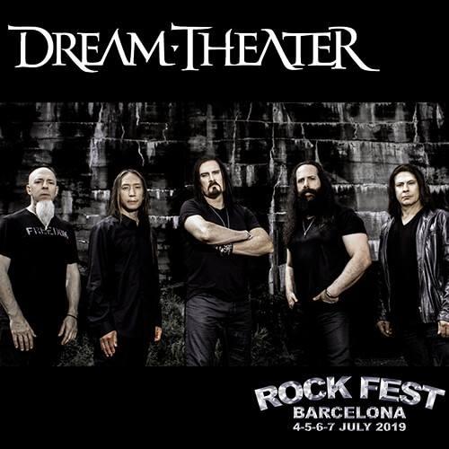 Confirmación Dream Theater Rock Fest Barcelona 2019
