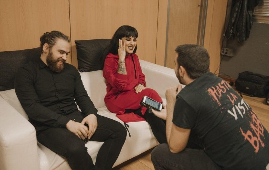 Entrevista Jinjer Tatiana Eugene
