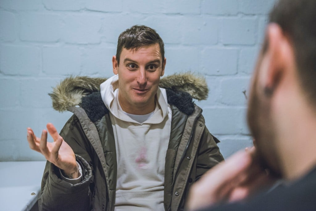 Entrevista Parkway Drive Winston McCall