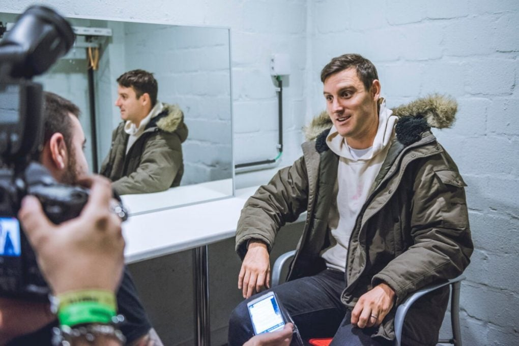 Interview Parkway Drive Winston McCall