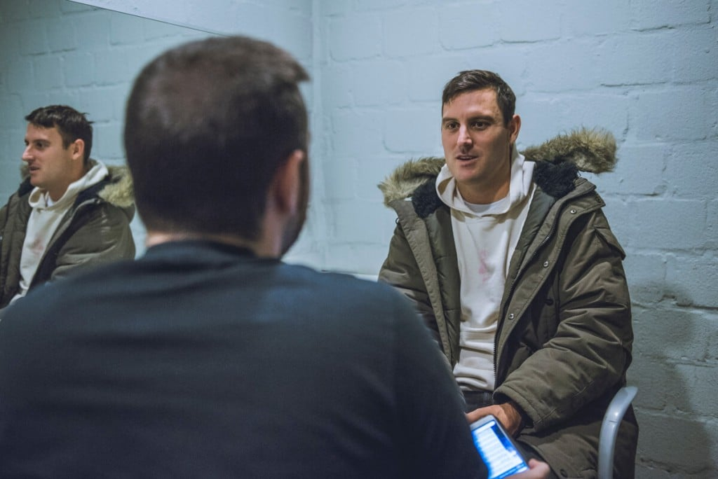 Parkway Drive Interview Winston McCall
