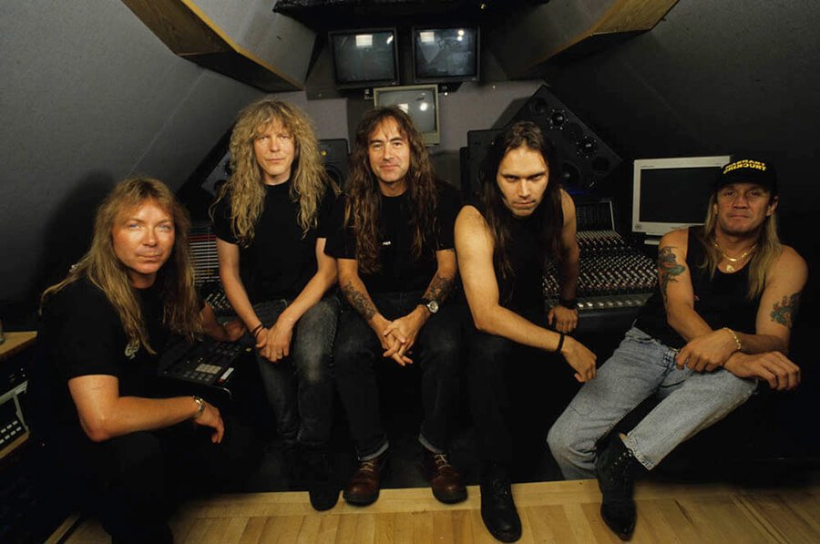 Iron Maiden 1995