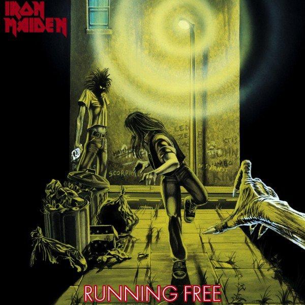 Iron Maiden Running Free
