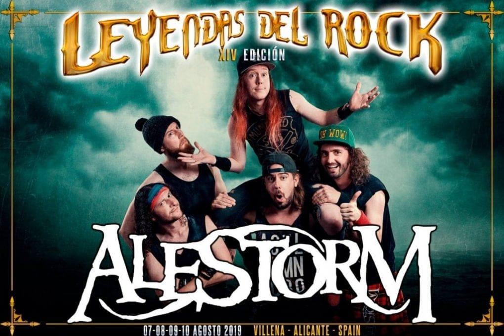 Alestorm Leyendas del Rock 2019