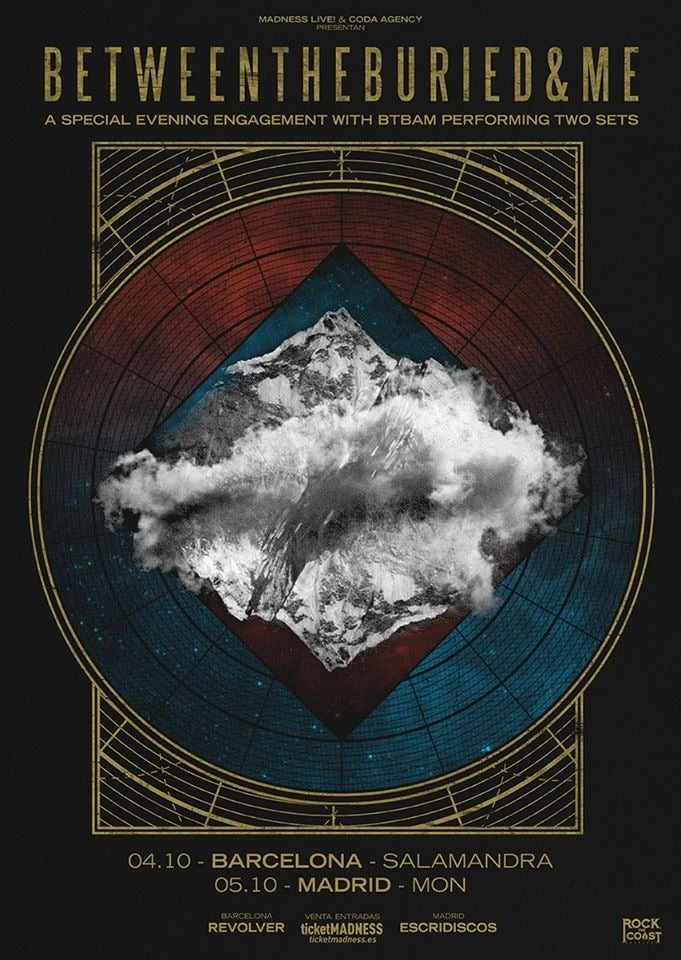 Between The Buried And Me España 2019