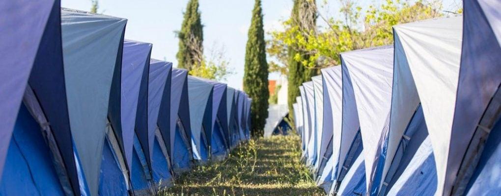 Easy Tent camping Azkena Rock 2019