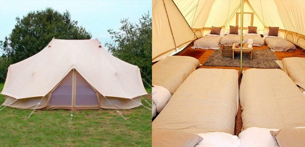 Emperor Tent camping Azkena Rock 2019