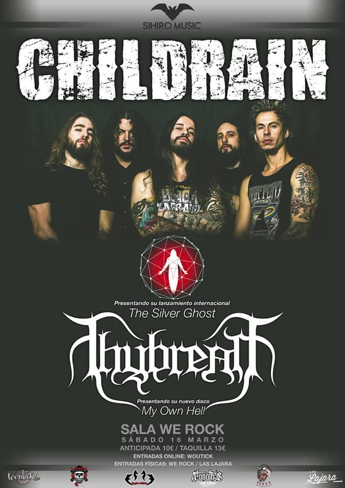 Cartel Childrain Thybreath Madrid mal