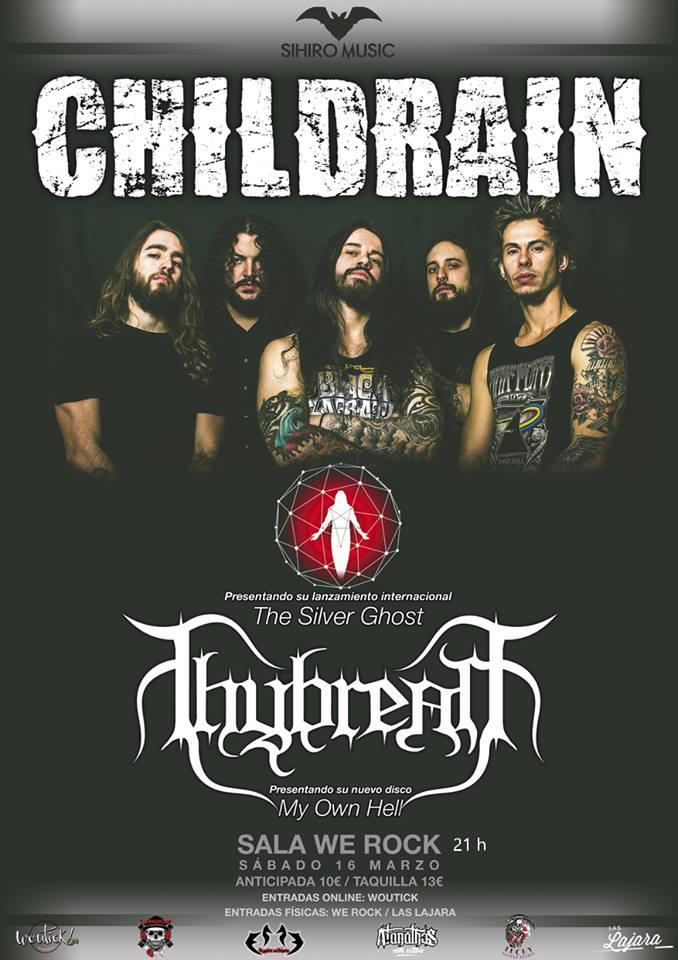 cartel Childrain Thybreath Madrid 2019