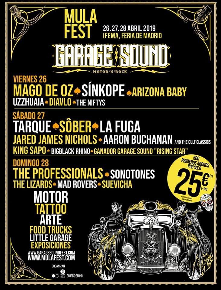 Cartel Garage Sound 2019 Mulafest