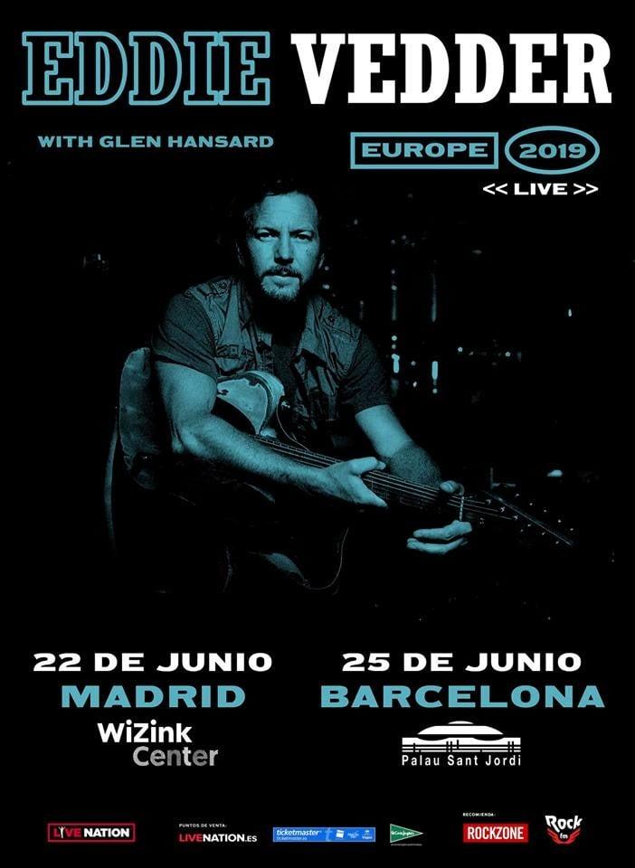 Eddie Vedder España 2019