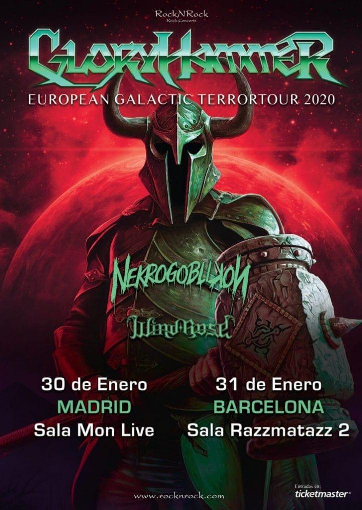 Gloryhammer España 2020