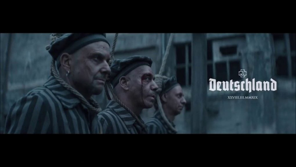 Rammstein Deutschland videoclip