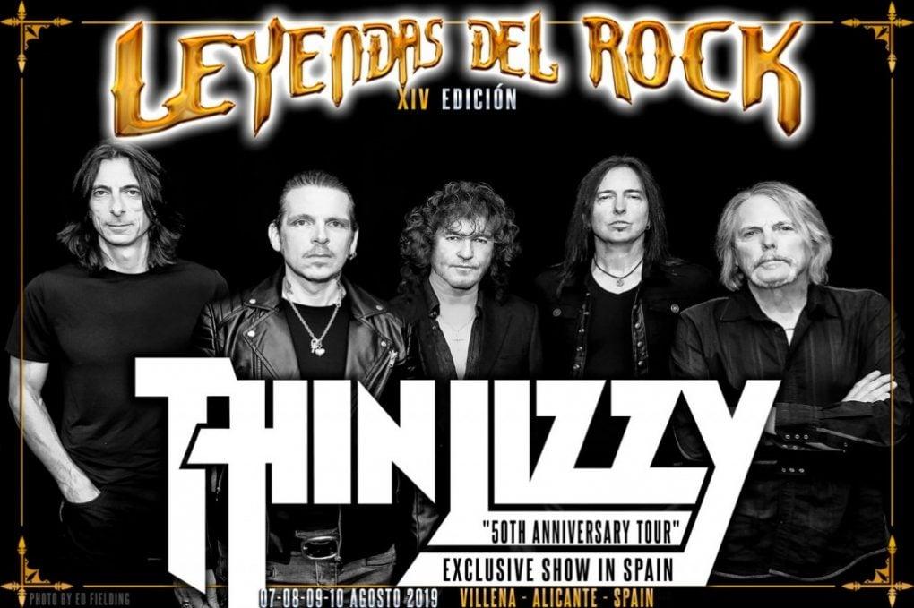 Thin Lizzy Leyendas del Rock 2019