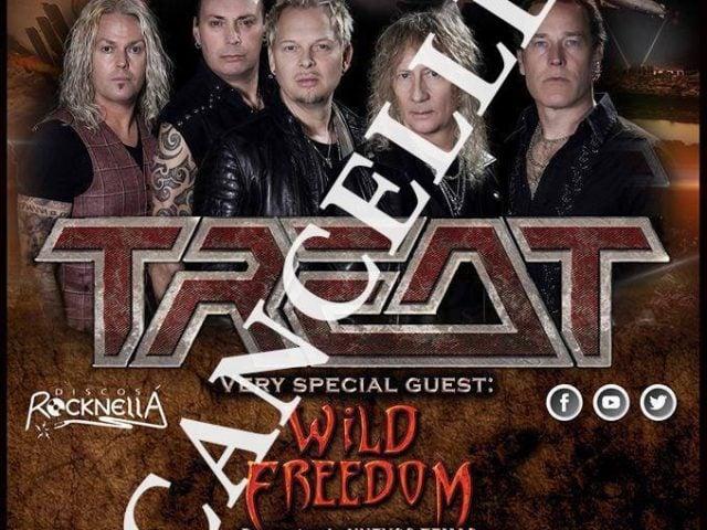 Treat España cancelado JS Live Concerts