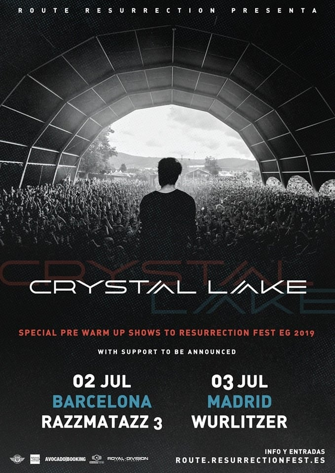 Crystal Lake Barcelona Madrid 2019