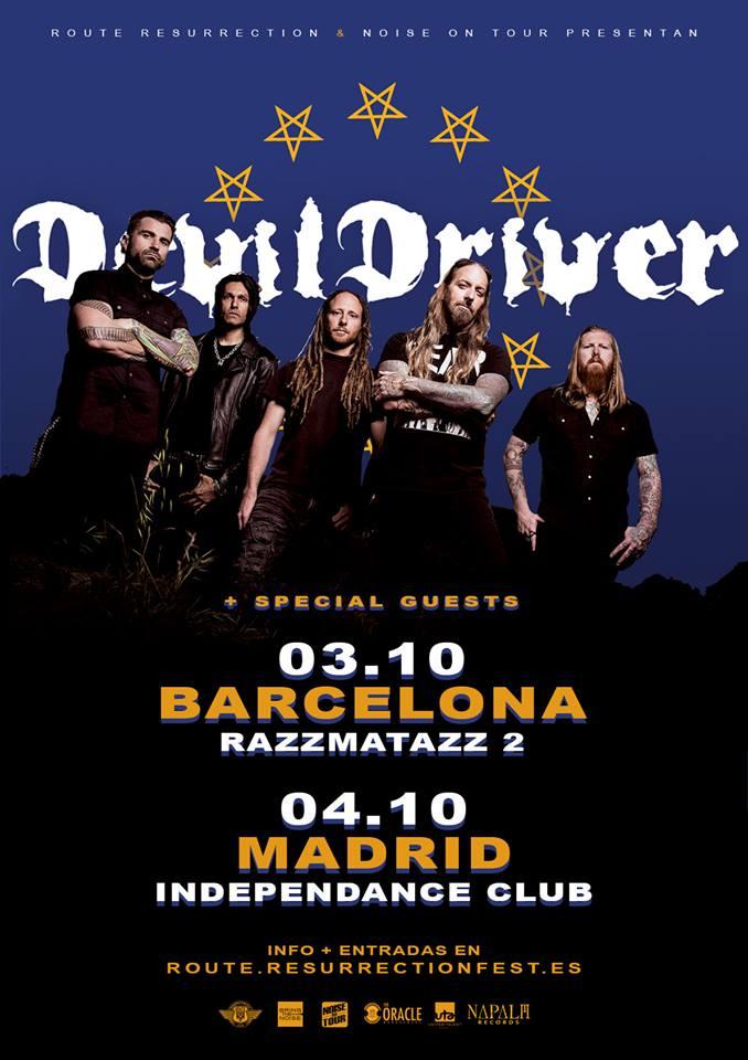 DevilDriver España 2019