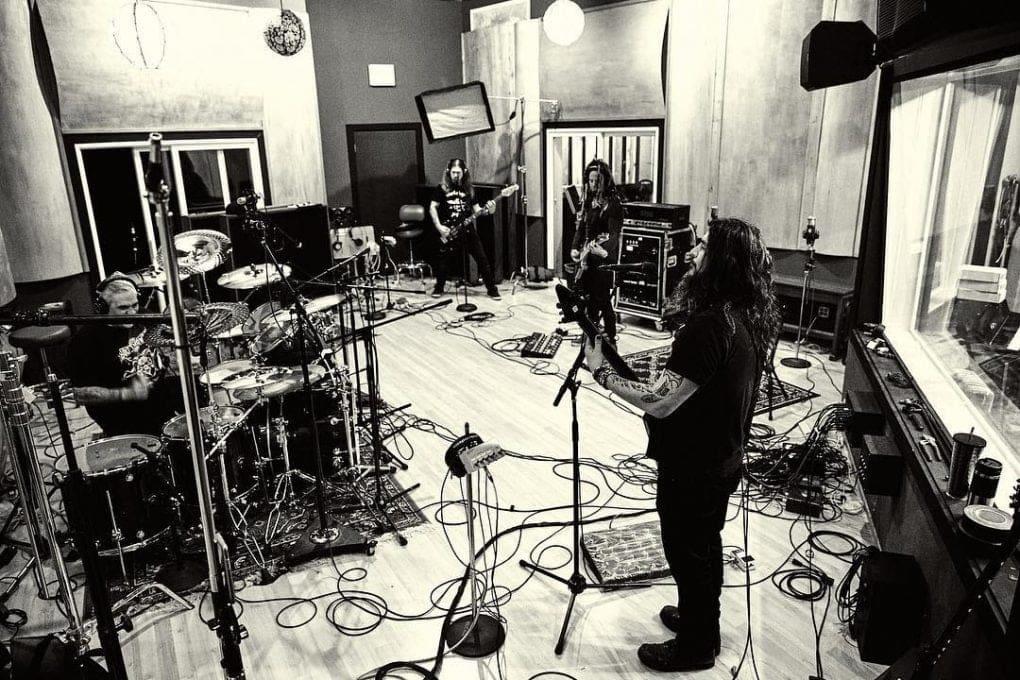 Machine Head studio 2019 Burn My Eyes