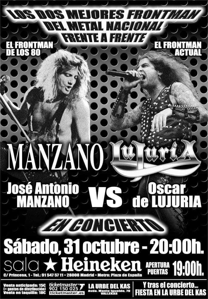 Manzano Oscar Lujuria