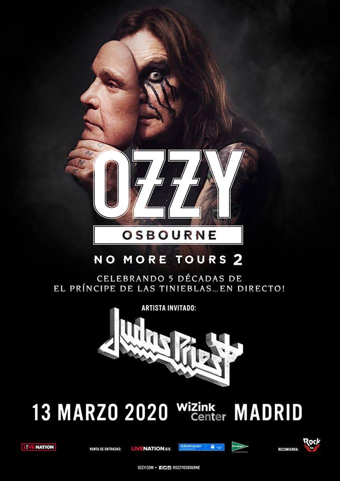 Ozzy Osbourne Madrid 2020 Judas Priest