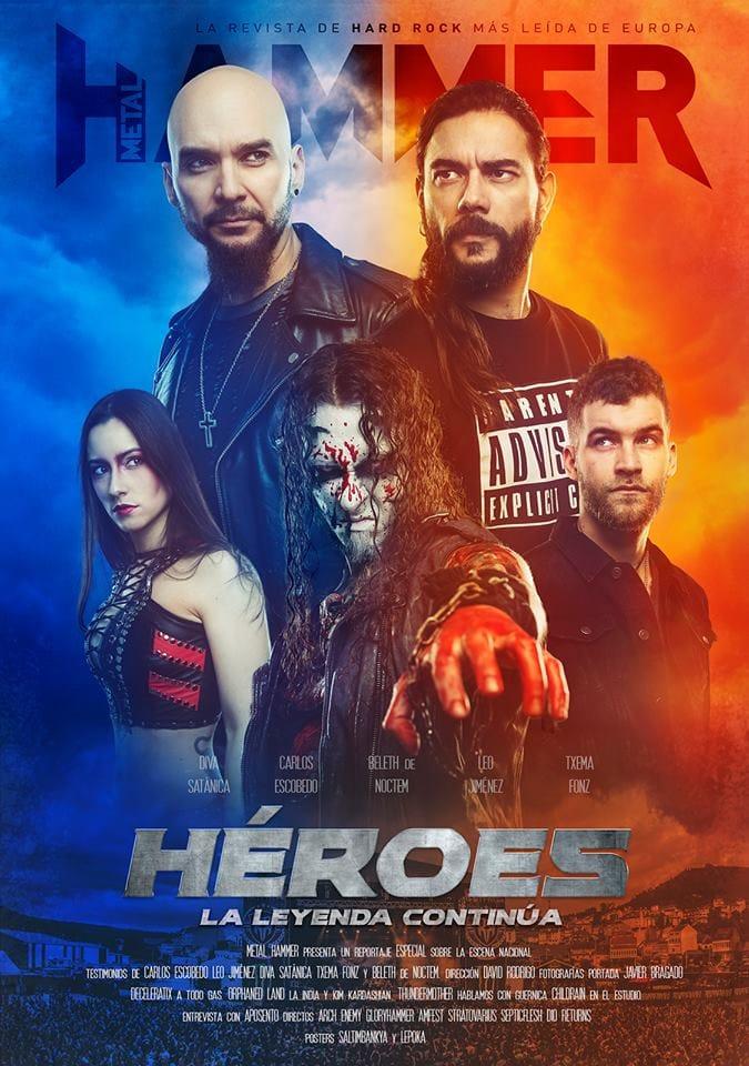 portada Metal Hammer España 2018 febrero Héroes