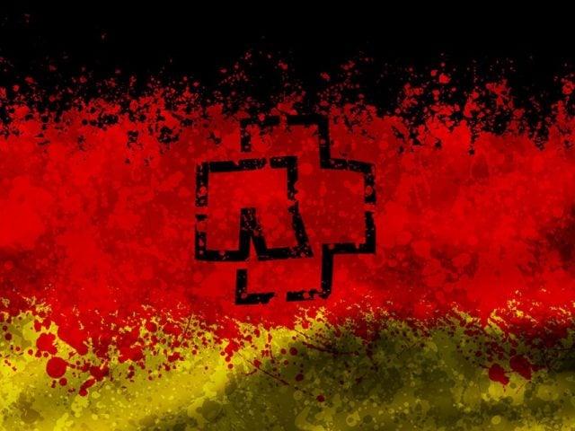 Rammstein Deutschland flag