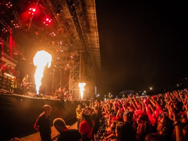 Twisted Sister Rock Fest Barcelona 2016