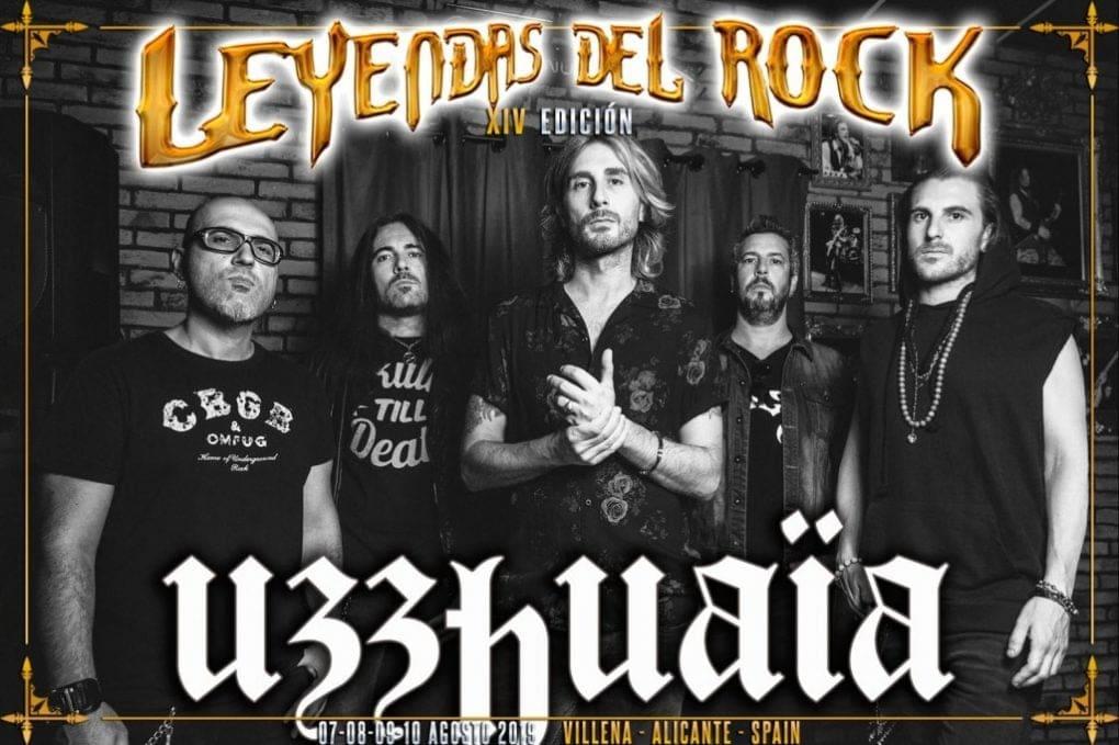 Uzzuahïa Leyendas del Rock 2019