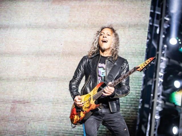 Kirk Hammett Metallica Barcelona