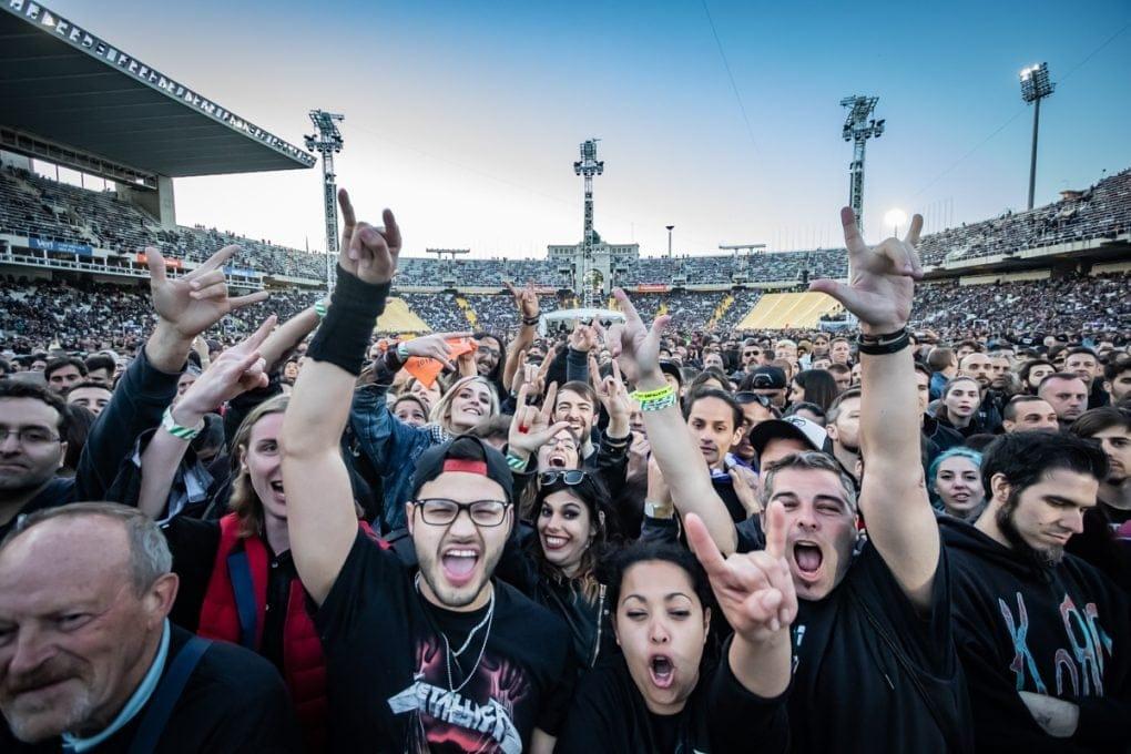 Público Metallica Barcelona 2019