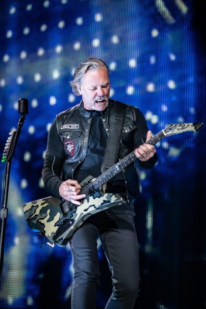 James Hetfield Metallica Barcelona 2019