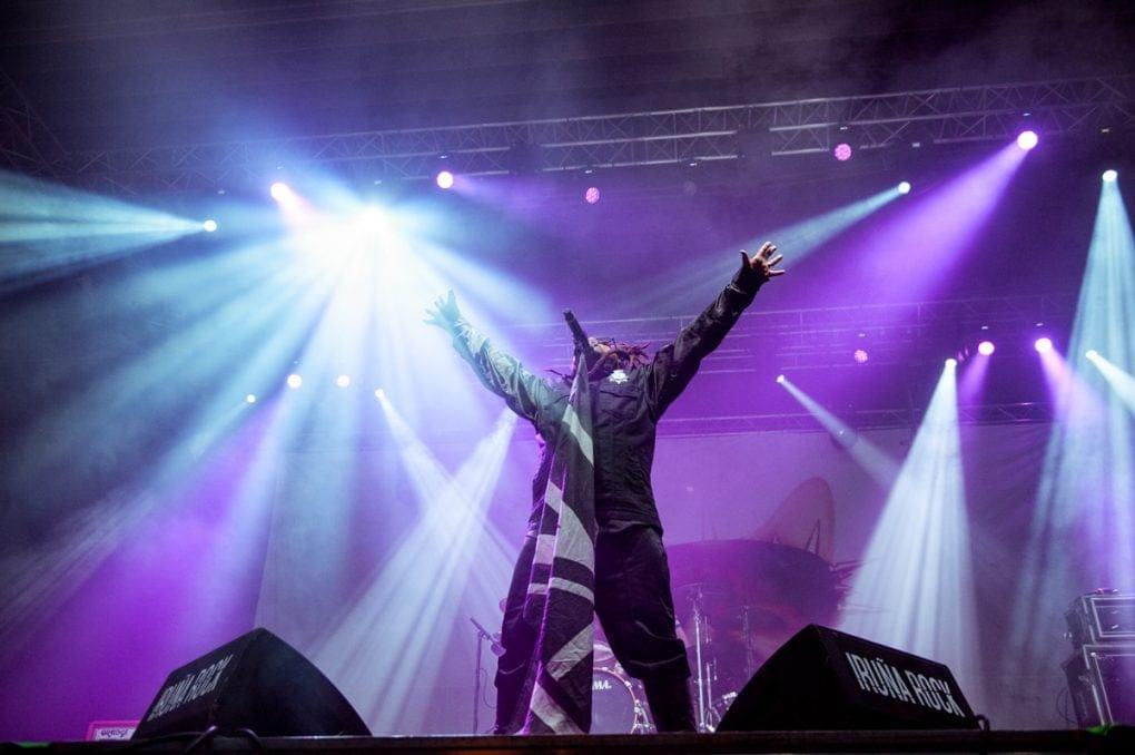 Skindred en Iruña Rock 2019