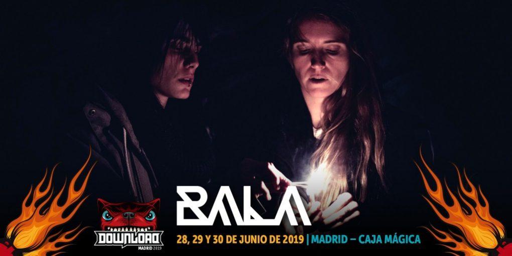 Bala Download Festival Madrid 2019 cartel
