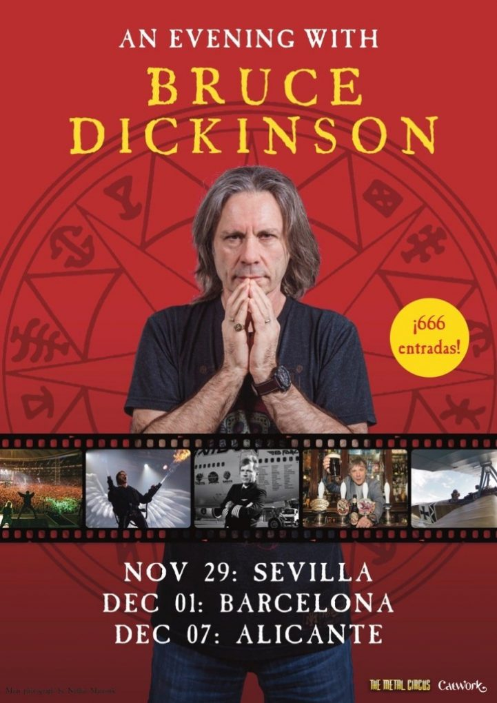 Bruce Dickinson España 2019