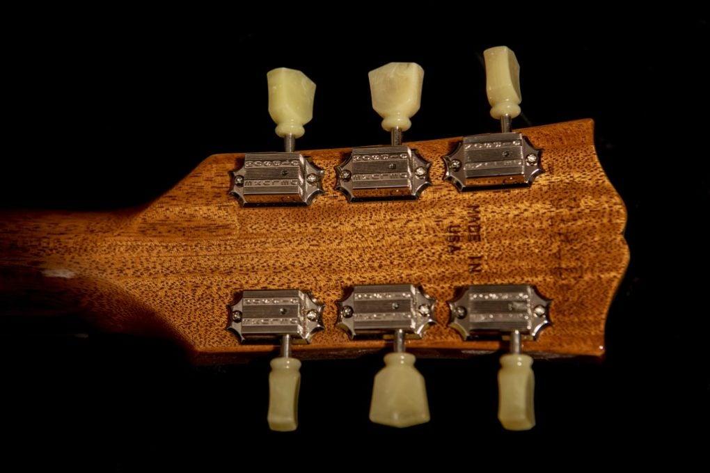 clavijero Gibson Les Paul '50s Tobacco Sunburst