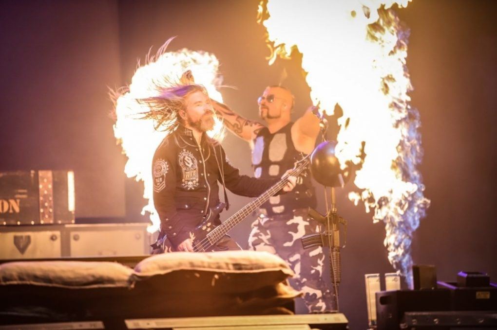 Sabaton Download Festival Madrid 2019