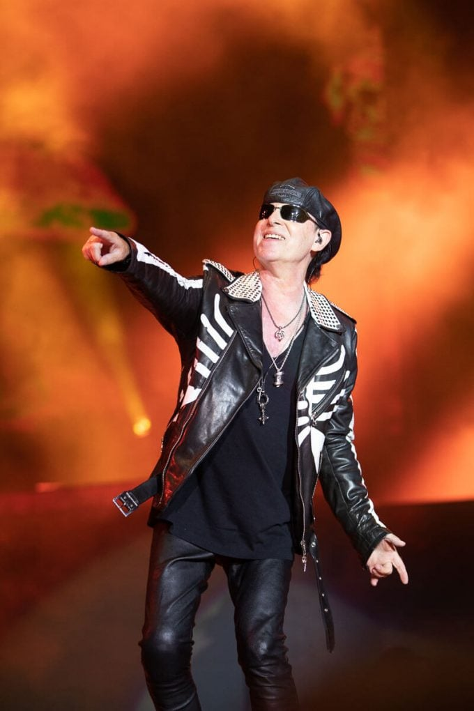 Klaus Meine Scorpions Rock The Coast