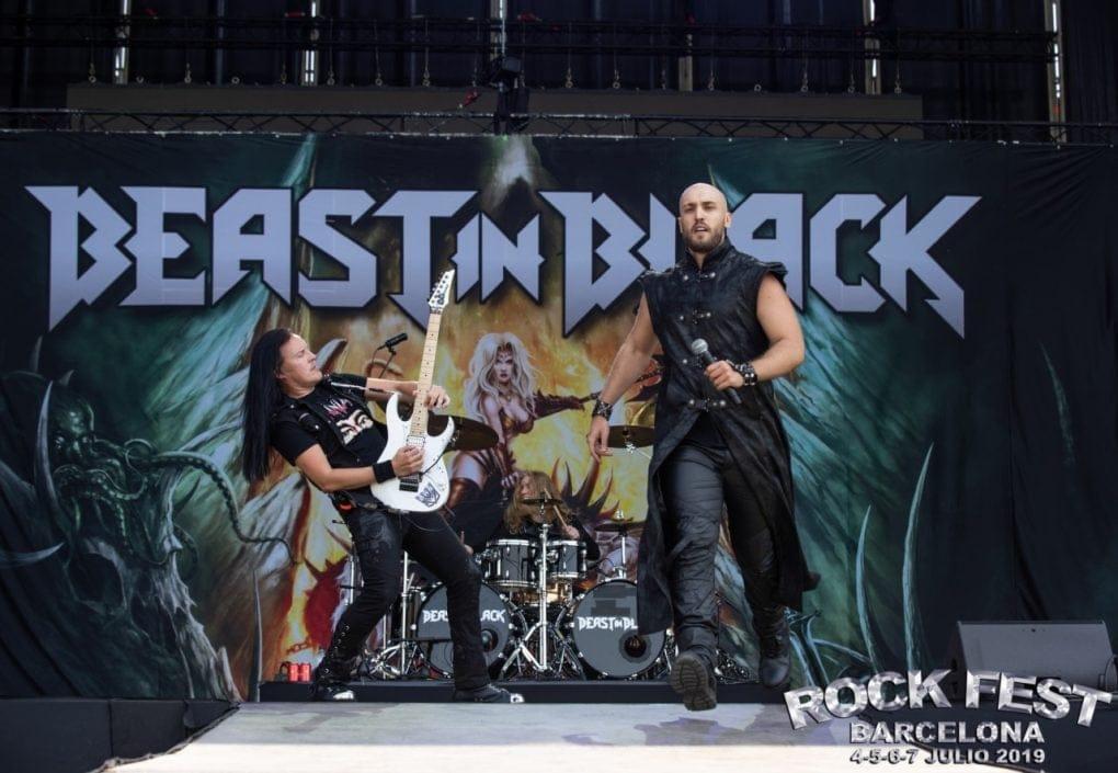 Beast In Black Rock Fest Barcelona 2019