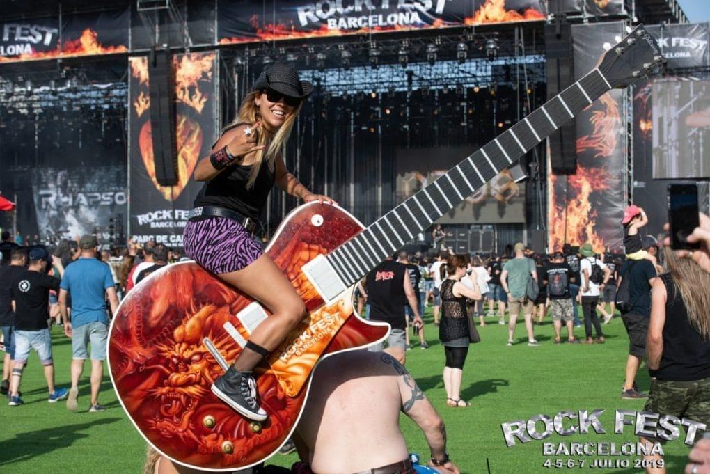 guitarra Rock Fest Barcelona 2019
