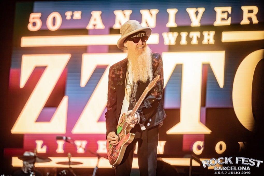 ZZ Top Rock Fest Barcelona