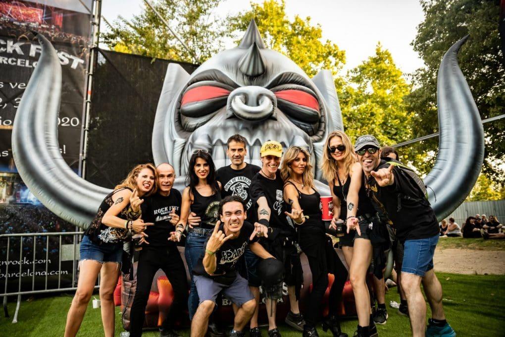 público Rock Fest Barcelona 2019
