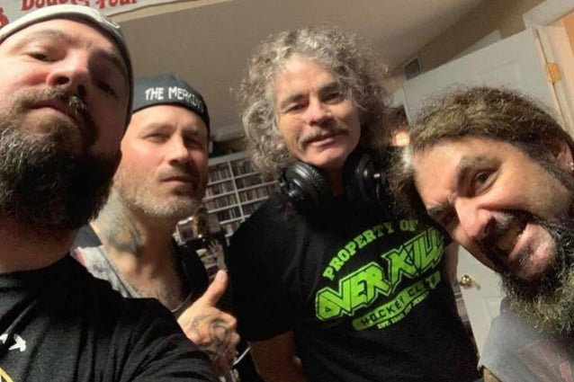 Phil Demmel Bobby Blitz Mike Portnoy Mark Menghi